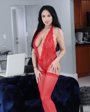 Anissa Kate at MylfBLows